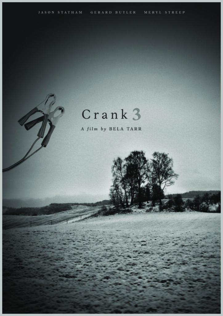 Movie poster for Bela Tarr's Crank 3